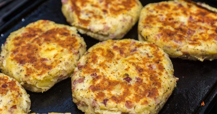 Bacon Kartoffeltaler