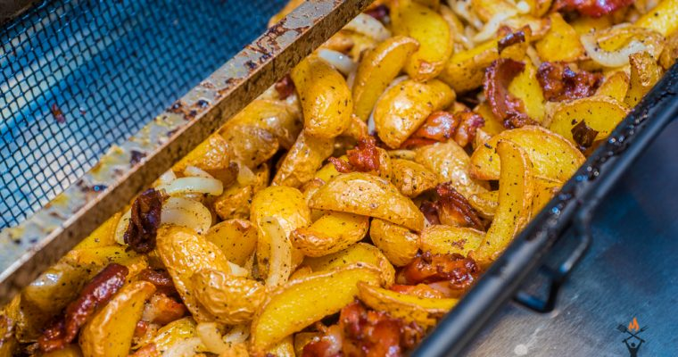 Bacon Onion Wedges