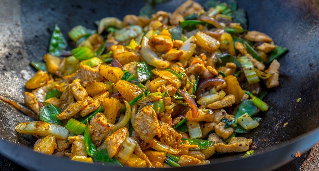 Sweet Chicken aus dem Wok