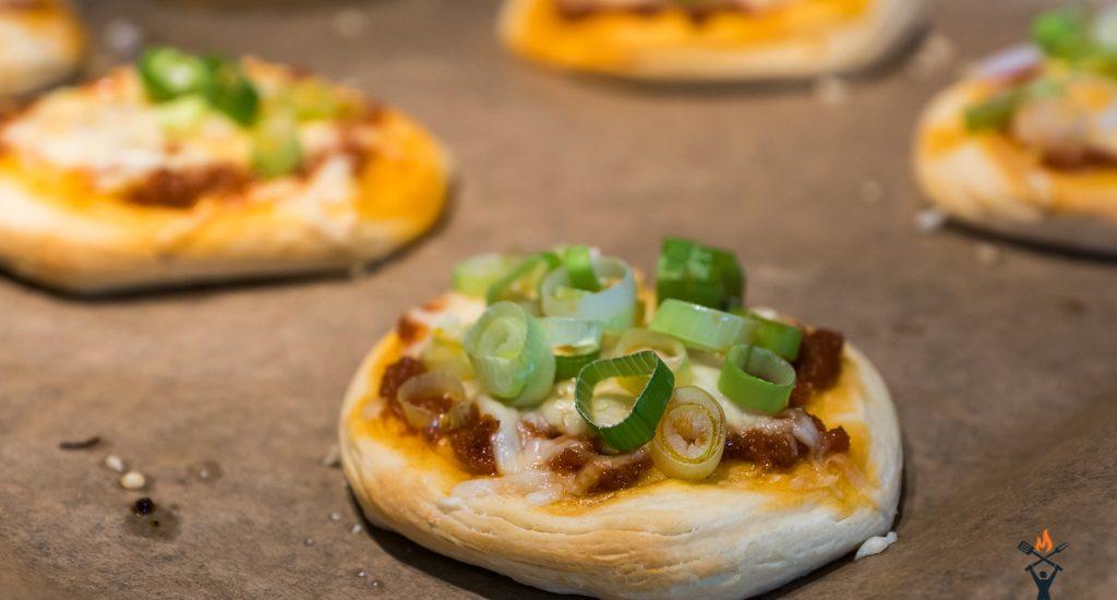 Schneller Pizza-Snack